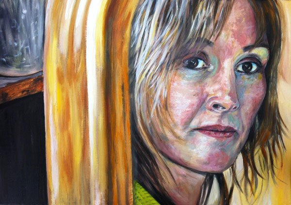 Portrait by Stuart Le Tissier author of the Painting Super Starter a painting for beginners course