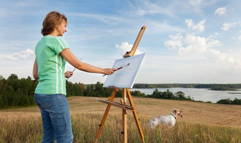 Learn to paint in a logical way